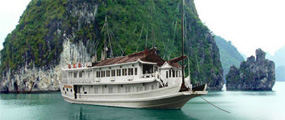 Halong Bay 2 days 1 night sleep on boat.
