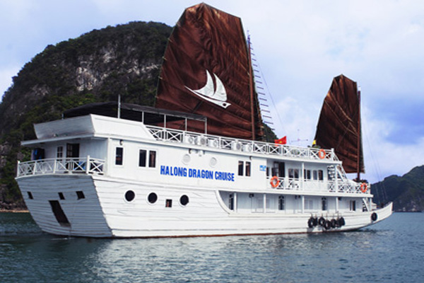 HALONG BAY 2 days/ 1 night - on Dragon Gold Cruise.
